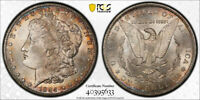 1884 CC $1 MORGAN DOLLAR PCGS MINT STATE 64 UNCIRCUALTED CARSON CITY TONED CERT5633