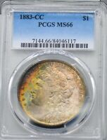 1883 CC CERTIFIED PCGS MINT STATE 66