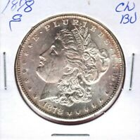 1878-S MORGAN SILVER DOLLAR GRADES CHOICE UNCIRCULATED  C3790