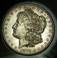 1878 S MORGAN SILVER DOLLAR - UNC