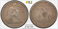 1872 CC $1 SEATED LIBERTY DOLLAR PCGS EXTRA FINE  EXTRA FINE DETAILS CARSON CITY MINT