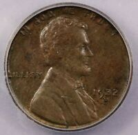 1932-D 1932 LINCOLN CENT ICG MINT STATE 62 BN