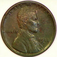 1918 D LINCOLN HEAD WHEAT CENT 1C US GOOD DETAIL  LOOKING PENNY D45