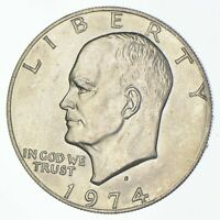 SILVER SPECIALLY MINTED S MINT MARK 1974 S 40  EISENHOWER SI