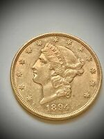 1894 S $20 LIBERTY GOLD DOUBLE EAGLE