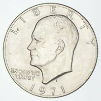 SILVER SPECIALLY MINTED S MINT MARK 1971 S 40  EISENHOWER SI