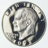 SILVER SPECIALLY MINTED S MINT MARK 1973 S 40  EISENHOWER SI