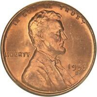 1953 S LINCOLN WHEAT CENT CHOICE BU PENNY US COIN