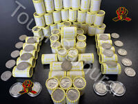 ONE  1   HALF DOLLAR ROLL   BANK SEALED  POSSIBLE 40  90  SILVER COINS