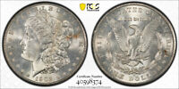 1902 S $1 MORGAN DOLLAR PCGS MINT STATE 64 UNCIRCULATED BETTER DATE FLASHY COIN  CER