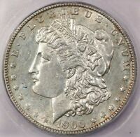 1900-S 1900 MORGAN SILVER DOLLAR ICG AU58 DETAILS CLEANED