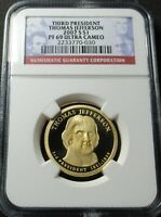 2007 S PROOF 3RD THOMAS JEFFERSON PRESIDENTIAL DOLLAR NGC PF