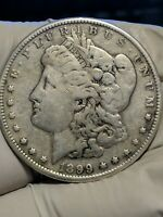 1899-S MORGAN SILVER DOLLAR -  DATE - INVESTMENT GRADE -