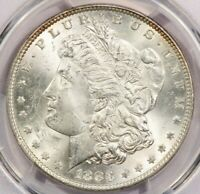1883-P 1883 MORGAN SILVER DOLLAR PCGS MINT STATE 63