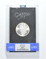MINT STATE 65 1883-CC MORGAN SILVER DOLLAR - GSA HOARD - GRADED NGC 0626