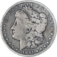 1891 O MORGAN SILVER DOLLAR  GOOD VG SEE PICS F995