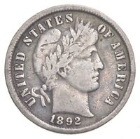 BETTER 1892   US BARBER LIBERTY SILVER DIME COIN COLLECTION
