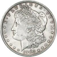 1900 MORGAN SILVER DOLLAR AU SLIDER