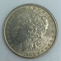 1900 $1 MORGAN SILVER DOLLAR US COIN