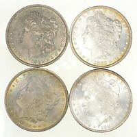 LOT 4 1882 MORGAN SILVER DOLLARS 6482