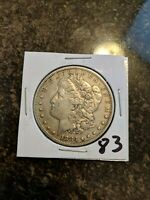 1883 MORGAN DOLLAR   COIN FROM  ESTATE