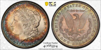 1881 CC $1 MORGAN DOLLAR PCGS MINT STATE 66 UNCIRCULATED CAC APPROVED TONED