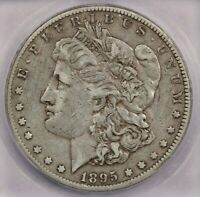 1895-O 1895 MORGAN DOLLAR ICG VF25 SWEET ORIGINAL COIN WOW