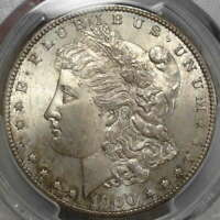 1900-S MORGAN DOLLAR, CHOICE UNCIRCULATED PCGS/CAC MINT STATE 64, ORIGINAL WITH COLOR