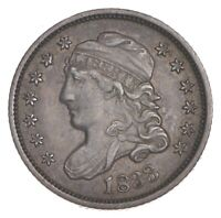 1833 CAPPED BUST HALF DIME - LM-7 7319