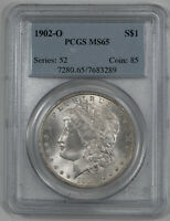 1902 O MORGAN SILVER DOLLAR $1 PCGS CERTIFIED MINT STATE 65 MINT STATE UNC 289