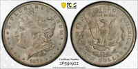 1879 CC $1 MORGAN DOLLAR PCGS MINT STATE 63 CARSON CITY MINT UNCIRCULATED TONED