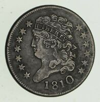 1810 CLASSIC HEAD HALF CENT - CIRCULATED 4703
