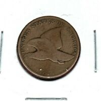 1857 FLYING EAGLE CENT GRADES GOOD BUY IT NOW. C1479