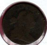 1802 DRAPED BUST LARGE CENT CIRCULATED EARLY DATE HERE C4234