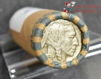 BUFFALO NICKEL MIXED YEARS ROLL 40 COINS, $2 FACE - VG & BETTER