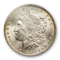 1888 O $1 MORGAN DOLLAR NGC MINT STATE 64 UNCIRCULATED LIGHTLY TONED ATTRACTIVE  CER