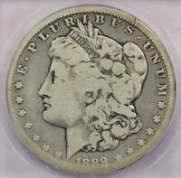 1889-CC 1889 MORGAN DOLLAR ICG G4 PERFECT ORIGINAL LOOK