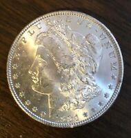 1884 MORGAN SILVER DOLLAR CHOICE UNCIRCULATED  COIN HERE C4819