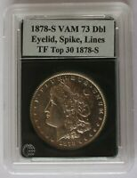 1878 S VAM 73, DOUBLED EYELID WITH SPIKE, LINES IN TAIL FEATHERS