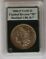 1880 P VAM 43  DOUBLED 1-80, CLASHED REV M