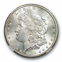 1889 S $1 MORGAN DOLLAR NGC MINT STATE 61 UNCIRCULATED BLAST WHITE BETTER DATE LUSTRO