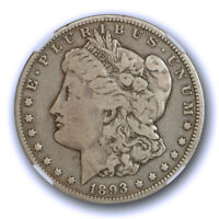 1893 O $1 MORGAN DOLLAR NGC VG 10  GOOD TO FINE LOOKS BETTER  TOUGH DATE