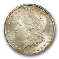 1880 CC $1 MORGAN DOLLAR ANACS MINT STATE 63 UNCIRCULATED OLD HOLDER CARSON CITY  8/L