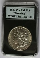 1889 P VAM19A   DOUBLED REVERSE, BAR WING, DOUBLED 89  TOP 100 & WOW LISTS