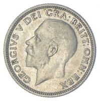 ROUGHLY SIZE OF QUARTER 1932 GREAT BRITAIN 1 SHILLING WORLD