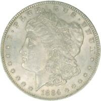 1884 O MORGAN SILVER DOLLAR UNCIRCULATED US MINT COIN
