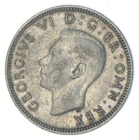 ROUGHLY SIZE OF QUARTER 1943 GREAT BRITAIN 1 SHILLING WORLD