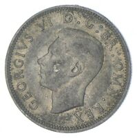 ROUGHLY SIZE OF QUARTER 1942 GREAT BRITAIN 1 SHILLING WORLD