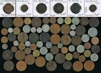 75 OLD UK & EX COLONY COINS  1723 1959  COLLECTIBLES> SEE PI