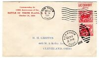629 WHITE PLAINS 1926 FIRST DAY COVER   GRIFFIN U/O NEW HAVE